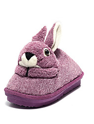 Women's Slippers & Flip-Flops Winter Slippers Customized Materials Casual Flat Heel Others Blue / Pink / Purple /