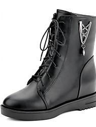 Feminino-Botas-Saltos / Plataforma / Botas Montaria / Botas da Moda / Botas de Motocicleta / Inovador / Botas de Cowboy / Botas de Neve /