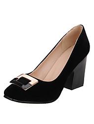 Women's shoes Winter Heels / Square Toe / Closed Toe Leatherette Office & Career / Dress / Casual Low Heel women pumps