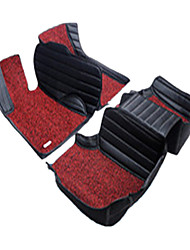 Car Surrounded By All The Rugs In 3 D PVC Car MATS