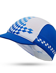 Cycling Cap Hat Bike Windproof / Dust Proof / Sunscreen Unisex Blue Terylene