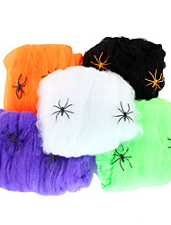 1PC Wpider's Web for Halloween Costume Party Random Color