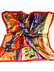 LYZA Business OL Style Scarf Chromatic Floral HIgh End Women's Scarf