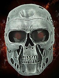 Halloween Resin T-800 1pc Mask Hand Made Horror Cosplay Halloween Cosplay Masks Mask Black Friday Luxury Mask