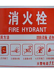hidrante sinais placa utilização de alumínio 20 centímetros * 30 centímetros
