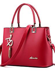 M.Plus Women Fashion Solid Messenger/Shoulder Crossbody Bag/Handbag Tote