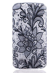 Pour Coque LG Transparente Motif Coque Coque Arrière Coque Fleur Flexible PUT pour LG LG K10 LG K8 LG K7 LG K4 LG G5 LG G4 LG G3
