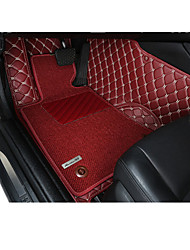 Steps Of Automobile Surrounded By Double Wire Coil Car Special Bag Full Carpet