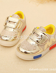 Unisex Sneakers Spring / Summer / Fall / Winter Comfort Patent Leather Athletic / Casual Flat Heel