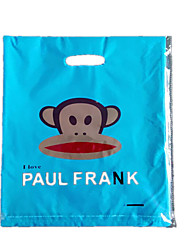 35Cm * 45Cm Blue Monkey Plastic Gift Bags(50 Bags Per Pack)