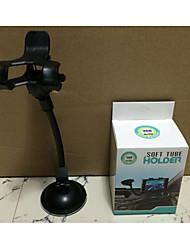 rotação de 360 graus de suporte por telefone móvel gps titular / carro de navegação dupla clip / chuck universal suporte de preguiçoso