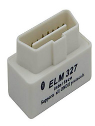 mini-Elm327 super blanc avec un marqueur bluetooth instrument de diagnostic scanner OBD