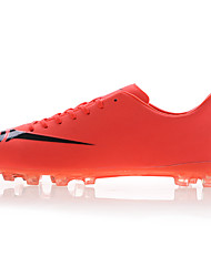 Men's Soccer Shoes Spring / Summer / Fall / Winter  Leather Sport Outdoor / Black / Light Green / Orange
