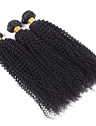 3 Stück Kinky Curly Menschliches Haar Webarten Mongolisches Haar 100 grams 8inch to 30inch Haarverlängerungen