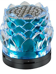 Crystal Lotus Buddha Machine Factory Outlets LED Crystal Flash Car Speakers