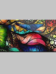 Large Size Hand Painted Modern Abstract Oil Paintings On Canvas Wall Art Picture With Stretched Frame Ready To Hang