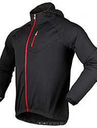 Sports Bike/Cycling Tops Men's Long Sleeve Breathable / Comfortable / Thermal / Warm Fleece Classic Black S / XXL