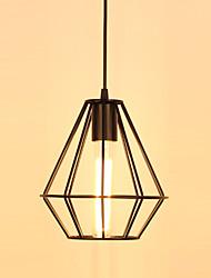 Lampe suspendue ,  Traditionnel/Classique Retro Rétro Rustique Peintures Fonctionnalité for Style mini MétalSalle de séjour Chambre à