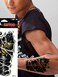 5pcs Tatouages Autocollants Autres Non Toxic / WaterproofFemme / Adulte / Adolescent flash Tattoo Tatouages temporaires