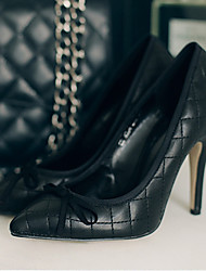 Women's Heels Spring / Fall Fashion Boots Rubber Outdoor Stiletto Heel Others Black Others