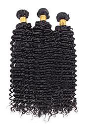 Menschenhaar spinnt Brasilianisches Haar Locken 18 Monate 3 Stück Haar webt