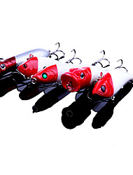 "5pc pcs Lápis / Popper de Pesca N/D 10-13.6g(about) g/3/8 / 7/16 / 1/2 Onça,60-80mm(About) mm/2-3/8"" / 2-1/2"" / 2-5/8"" / 2-11/16"" /"