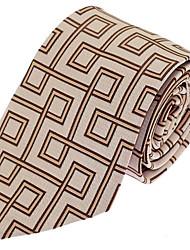 Men Business Wedding Party Necktie Tie Polyester Silk
