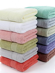 12 Colors Plain Pure Cotton Towels Cotton Bath Towel