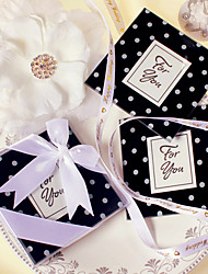 Beter Gifts Bridesmaids / Bachelorette Wedding dcor 2pcs Glass Coasters / Rustic / White / Black