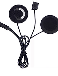 Motorcycle Intercom Accessories Earphone Soft Earphone Microphone For COLO TCOM-SC FDCVB T-COMVB Moto Helmet BT Intercom Headset