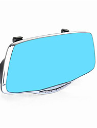 Double Lens Rear View Mirror Driving Recorder Big Screen Blue Mirror HD Car Black Box