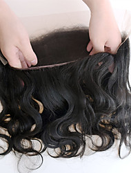 8-20 360 Lace Frontal Closure Back Adjust13*4 Body Wave Wavy Lace Band Frontals Closure