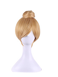Cosplay Wig Wonderful Fairy Tinker Bell Golden Single Contract Model 8 Inch Hair Wigs