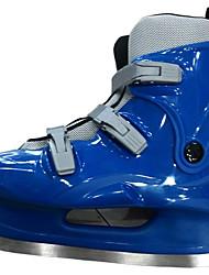 Feminino-Tênis-D'Orsay-Salto Meia Pata-Preto / Azul-Borracha-Para Esporte
