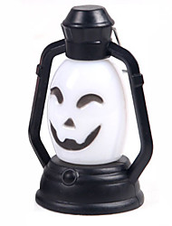 (Pattern is Random)1PC Halloween Decorations Horror Ghost Light Led Colorful Lantern Pumpkin Lamp