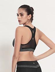 Women's Running Tops / Tank Fitness / Leisure Sports / Quick Dry / Wicking / Lightweight MaterialsWhite / Green /