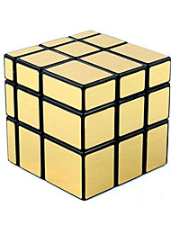 Shengshou® Smooth Speed Cube 3*3*3 Mirror Magic Cube Black ABS