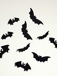 Halloween Decoration Bats Put Children Bedroom Adornment Wall Creative Felt Bats