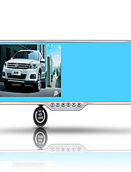 Mirror Recorder Electronic Dog One Machine Two Lens Reversing Video Parking Monitoring D7