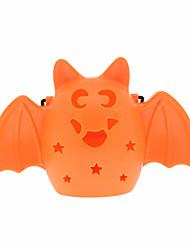 1pc Halloween portable lampe citrouille lampe scène de halloween mise en page des accessoires