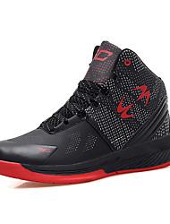 Men's Basketball Shoes Microfiber Medium Top Running Shoes Plus Size EU37-EU45