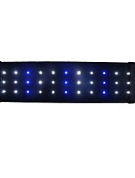 Aquarium LED Light 45cm 33-LED Blue White Light Fish Tank LED Bar Submersible AC 85-265V