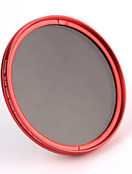 FOTGA® 77mm Camera Fader Variable ND Filter Neutral Density ND2 ND8 to ND400 Red