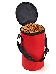 Gato / Cachorro Tigelas e Bebedouros / Comedouro Animais de Estimação Tigelas e alimentação de animais Prova-de-Água / PortátilVermelho /