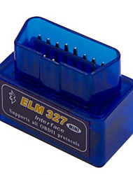 ELM327 Bluetooth OBD MINI 1.5 Hardware Version Blue ELM327 Lower Power Consumption