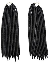 Вязаные дредлоки Наращивание волос 12Inch Kanekalon 24 Strands (Recommended Buy 5-6 Packs Full Head) нитка 115g грамм косы волос