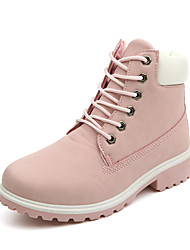 New winter boots boots a large size Korean flat with round 40 large women boots