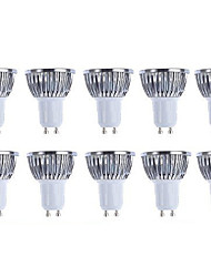 10pcs Pack  5W GU10 LED Bulbs - Warm white/white Spotlight - 420 Lumen 50Watt Equivalent - 45 Degree Beam Angle