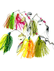 1 pcs Buzzbait & Spinnerbait Lures Buzzbait & Spinnerbait Random Colors 17.5 g Ounce mm inch,Silicon Bait Casting