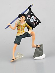 One Piece Monkey D. Luffy PVC 9cm Figures Anime Action Jouets modèle Doll Toy
